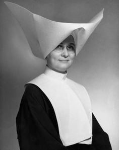 Sister Elizabeth Steiner, St. Paul Hospital Administrator, photo portait, 1964 :: Dallas Medical Images, 1890-1975