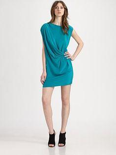 Gryphon - Toga Dress - Saks.com Toga Dress, Teal Dresses, Saks Fifth Avenue, Future, Wedding Dresses, Style, Fashion, Bride Dresses, Swag
