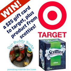 Win a $25 gift card to Target along with products from Scottie's- thanks to Scottie's!