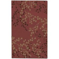 Home Decorators Collection, Blossoms Blue 3 ft. 6 in. x 5 ft. 6 in. Area Rug, BLS2600-3656 at The Home Depot - Mobile