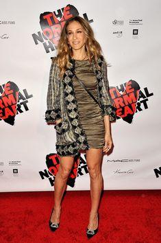 Sarah Jessica Parker Print Dress - Sarah Jessica Parker Dresses & Skirts Lookbook - StyleBistro