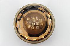 6 pcs 1.331.50 inch Tan Section Glass Rhinestone Resin by FeiYa