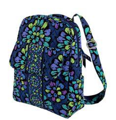 Backpack Vera Bradley Indigo Pop