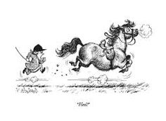 thelwell cartoon ponies