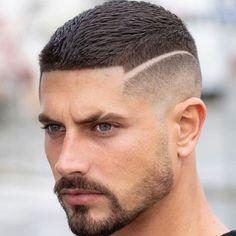 Crop Top Haircut + High Skin Fade – Best Very Short Haircuts For Men + Cool Short Men's Hairstyles Trendy Mens Haircuts, Very Short Haircuts, Popular Haircuts, Cool Haircuts, Barber Haircuts, Man Haircuts, Best Fade Haircuts, Curly Hair Cuts, Medium Hair Cuts