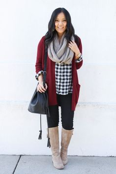 512390bd7e4 Fall Fashion Outfits Cardigan  trendy  outfit  casual  winter  winteroutfit   styling
