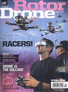 Rotor Drone (May/June 2015 - Cover: FPV Racers Daniel San...