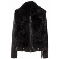 R13 Bear Jacket ($2,995) ❤ liked on Polyvore