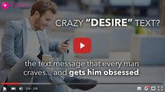 In this 'how-to' video, you will learn a special kind of text message that you can send a man right now that will unlock a hidden, ravenous desire for you. It is psychologically designed to make him obsess over you. Flirting Quotes For Her, Flirting Tips For Girls, Flirting Memes, Dating Quotes, Dating Advice, Flirty Quotes, Speed Dating, Michelin Star, Lisa Frank