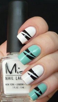 Diseños de uñas #uñas #nails #nails art #fashion #moda #elegant #nails design