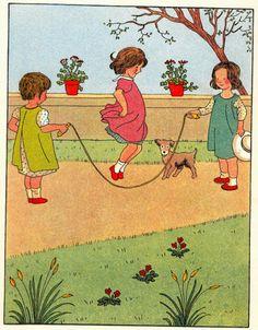 :: Sweet Illustrated Storytime :: Illustration of Vintage Children's Story