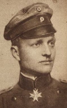 THe Red Baron, the ace who shot down many planes in World War 1.