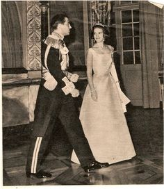 Constantine and Anne-Marie pre wedding gala 1964