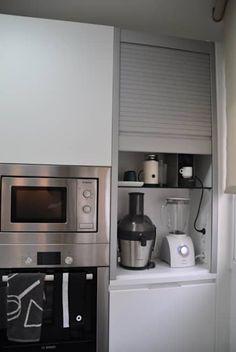 Cocina moderna de vetzar 3 s. Kitchen Room Design, Best Kitchen Designs, Modern Kitchen Design, Kitchen Layout, Home Decor Kitchen, Rustic Kitchen, Interior Design Kitchen, Kitchen Furniture, Home Kitchens