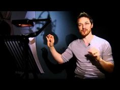 Video interview of James McAvoy voicing the title character in 'Arthur Christmas' (2011)