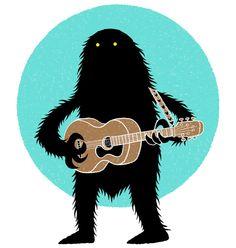 Beastly Hobbies by Chris Judge, via Behance