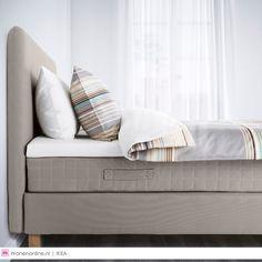 IKEA slaapkamertrends 2016. Nieuwe IKEA boxsprings van #ikea #slaapkamer #bedroom #interieur
