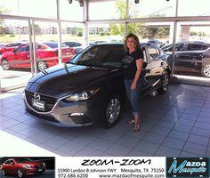 #HappyAnniversary to Heather Galimore on your 2014 #Mazda #Mazda3 from Jim Klick at Mazda of Mesquite!