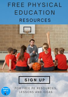 Physical Education Activities, Free Education, Elementary Classroom Themes, Elementary Teaching, Pe Lessons, Pe Teachers, Teacher Resources, Teaching Ideas, Physics