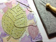Broder des feuilles d'automne @ Le Petit Manuel