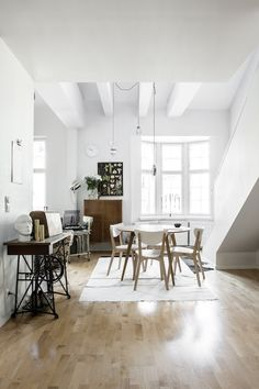 Beautiful home in Helsinki, Finland. Home owner: Jirka Väätäinen. Photographer: Pauliina Salonen. Stylist Laura Seppänen (shared with kind permission). Click for full tour.