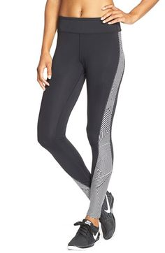 Free shipping and returns on Rebecca Minkoff 'Raegan' Leggings at Nordstrom.com. Graphic patterns add street-cool edge to stretchy leggings finished with a secure back-zip pocket to stash cash or a key.