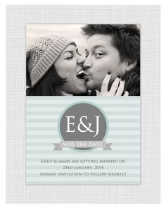 Photo Save The Date Card