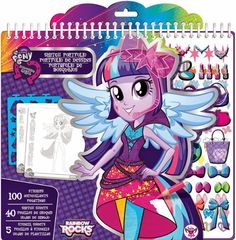 MY LITTLE PONY: Equestria Girls: ¡¡Nuevos productos de Rainbow Rocks de Fashion Angels!!