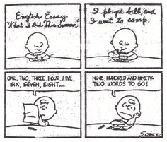 How can i write about a comic essay?