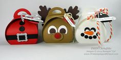 Curvy Keepsake Box Holiday Trio