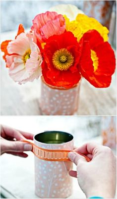 Here are 50incredible tin can recycling projects that will blow your mind! I can't wait to try these projects for myself, and I know you'll be just as excited to do some of these yourself! #diy #upcycle #recycle #tincans #crafts #ecofriendly Recycled Paper Crafts, Recycled Tin Cans, Recycled Gifts, Upcycled Crafts, Repurposed, Aluminum Can Crafts, Tin Can Crafts, Fun Crafts To Do, Diy Home Crafts