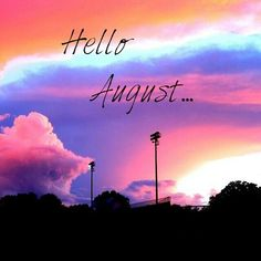 Hello August, Summer Beach, Neon Signs, Rainbow, Random Things, Beaches, Quotes, Healing, Wallpapers