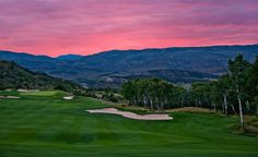 Red Sky Golf Club remains the universal reference point for mountain golf at the Vail Golf Club