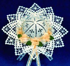 Crochet Decorative Hat Patterns - Diamond Windows Hat