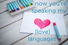 Now you're speaking my [love] language: 20 ideas to express affection through words of affirmation. Great series on practical ways to utilize the love languages!