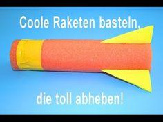 Raketen basteln | Kindergeburtstag-Planen