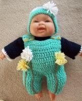 "A Growing baby... 14"" LtL baby - Free Original Patterns - Crochetville"