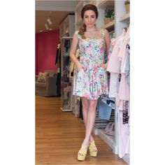 I think I'm gonna buy this dress  spring is here ... And the spring fashion just started for me !  #Noupou #springfashion #kisterss #hashtagfashion