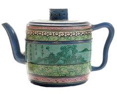 Antique Chinese Ceramic Teapot