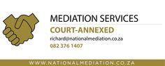 Mediation services offered - http://socialmediamachine.co.za/nationalmediation/index.php/2015/09/18/mediation-services-offered-5/