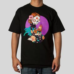 Day Of The Dead Tee in Black