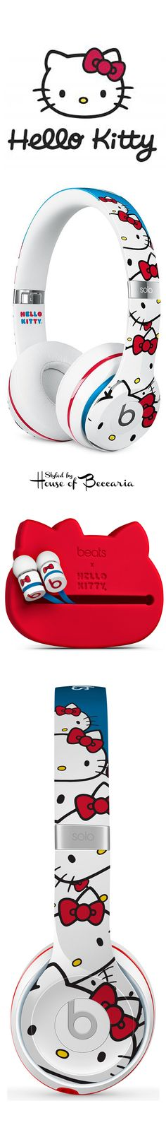 ~Travel in style: 40th Anniversary Hello Kitty x Beats Solo2 On-Ear Headphones & urBeats Earbuds | House of Beccaria