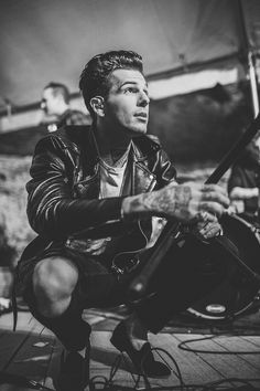 Jesse Rutherford] The name's Mathis, 25. I'm not a happy go lucky person but who is these days. My main weapon is an AR 15 or my machete. My lil' sis is Cass. She's all I got left. I worked at as I mechanic so I'm good with fixing things. I'm pretty intense and don't deal with other people's shit well. Probably why I don't have a lot of friends. My drinking problem might also have something to do with that but whatever. I'm just trying to survive.