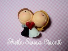 Fimo Bride and Groom