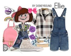 Ellie by leslieakay on Polyvore featuring polyvore, fashion, style, Madewell, Converse, MICHAEL Michael Kors, Kate Spade, Bling Jewelry, Georgia Perry, clothing, disney, disneybound and disneycharacter