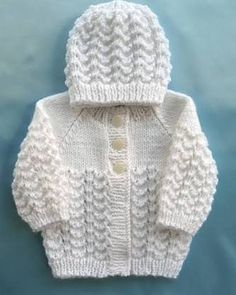 How to tutorial knitting and crochet baby pattern free