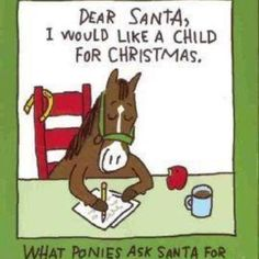What ponies ask Santa for