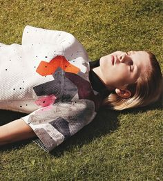 City Stile: Angela Jurkowianiec By Schmidt & Gorges For Grazia Italia 17th September 2014
