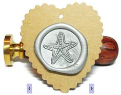 STARFISH Wax Seal Stamp or Wax Stick Sealing by MisterStamp