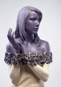 Italian sculptor Willy Verginer is one of leading artists of the genre - Magic realism  In his works he combines realism and wild imagination
